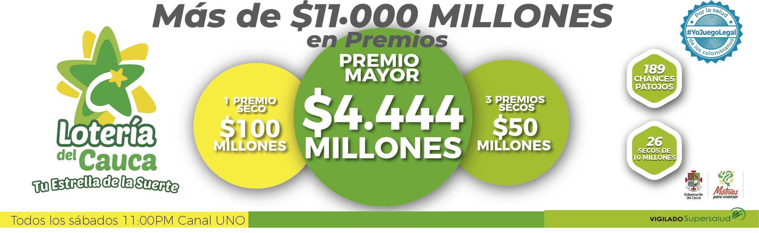 Loteria del Cauca